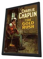 The Gold Rush - 11 x 17 Movie Poster - Style D - in Deluxe Wood Frame