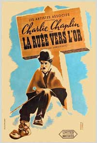 The Gold Rush - 11 x 17 Movie Poster - French Style A