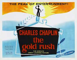 The Gold Rush - 30 x 40 Movie Poster UK - Style A