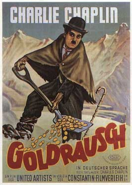 The Gold Rush - 11 x 17 Movie Poster - German Style B