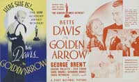 The Golden Arrow - 11 x 17 Movie Poster - Style B