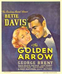 The Golden Arrow - 11 x 17 Movie Poster - Style C