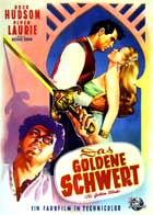 The Golden Blade - 11 x 17 Movie Poster - German Style A