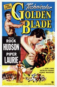 The Golden Blade - 11 x 17 Movie Poster - Style A