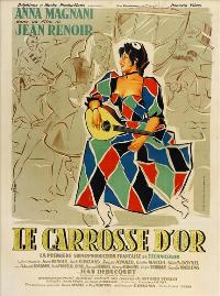 The Golden Coach - 27 x 40 Movie Poster - French Style A