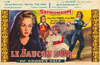 The Golden Falcon - 27 x 40 Movie Poster - Belgian Style A