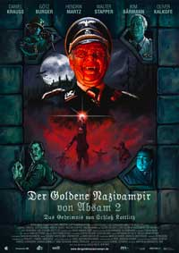 The Golden Nazi Vampire of Absam: Part II - The Secret of Kottlitz Castle - 27 x 40 Movie Poster - German Style A