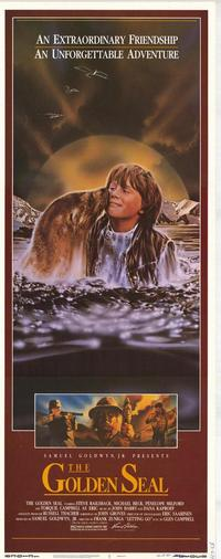 The Golden Seal - 14 x 36 Movie Poster - Insert Style A