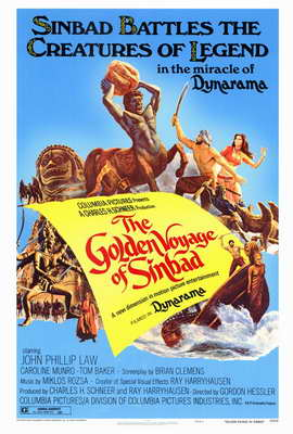 The Golden Voyage of Sinbad - 27 x 40 Movie Poster - Style A