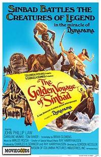 The Golden Voyage of Sinbad - 43 x 62 Movie Poster - Bus Shelter Style A
