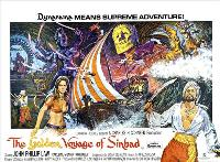 The Golden Voyage of Sinbad - 30 x 40 Movie Poster UK - Style A