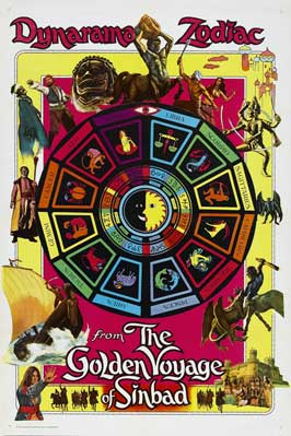 The Golden Voyage of Sinbad - 11 x 17 Movie Poster - Style C