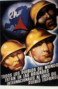 Good Fight: The Abraham Lincoln Brigade in the Spanish Civil War, The - 11 x 17 Movie Poster - Spanish Style A