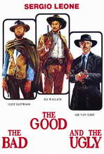 The Good, the Bad and the Ugly - 27 x 40 Movie Poster - Italian Style A