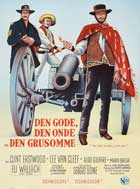 The Good, the Bad and the Ugly - 11 x 17 Movie Poster - Danish Style B