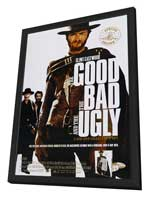 The Good, the Bad and the Ugly - 11 x 17 Movie Poster - Style F - in Deluxe Wood Frame