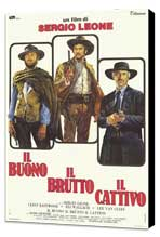The Good, the Bad and the Ugly - 11 x 17 Movie Poster - Italian Style A - Museum Wrapped Canvas