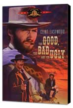 The Good, the Bad and the Ugly - 11 x 17 Movie Poster - Style C - Museum Wrapped Canvas