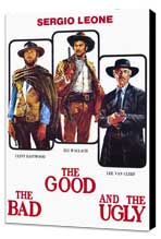 The Good, the Bad and the Ugly - 27 x 40 Movie Poster - Italian Style A - Museum Wrapped Canvas