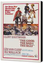 The Good, the Bad and the Ugly - 27 x 40 Movie Poster - Style A - Museum Wrapped Canvas