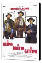 The Good, the Bad and the Ugly - 27 x 40 Movie Poster - Italian Style B - Museum Wrapped Canvas