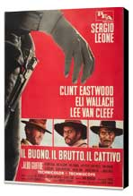 The Good, the Bad and the Ugly - 27 x 40 Movie Poster - Italian Style G - Museum Wrapped Canvas