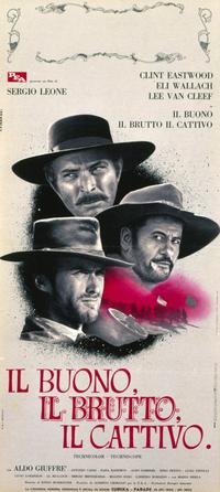 The Good, the Bad and the Ugly - 11 x 17 Poster - Foreign - Style B