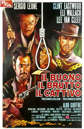 The Good, the Bad and the Ugly - 11 x 17 Poster - Foreign - Style C