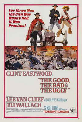 The Good, the Bad and the Ugly - 27 x 40 Movie Poster - Style A