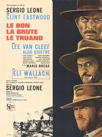 The Good, the Bad and the Ugly - 11 x 17 Movie Poster - French Style B