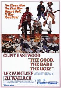 The Good, the Bad and the Ugly - 43 x 62 Movie Poster - Bus Shelter Style A