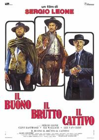 The Good, the Bad and the Ugly - 39 x 55 Movie Poster - Italian Style A