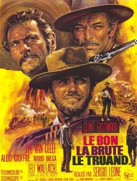 The Good, the Bad and the Ugly - 47 x 62 Movie Poster - French Style A