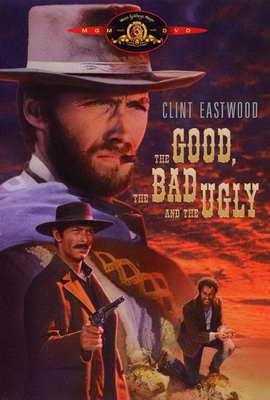 The Good, the Bad and the Ugly - 27 x 40 Movie Poster - Style C
