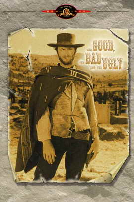 The Good, the Bad and the Ugly - 11 x 17 Movie Poster - Style D