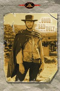 The Good, the Bad and the Ugly - 27 x 40 Movie Poster - Style D