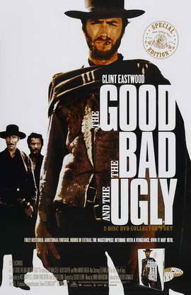 The Good, the Bad and the Ugly - 11 x 17 Movie Poster - Style F