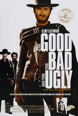 The Good, the Bad and the Ugly - 27 x 40 Movie Poster - Style F