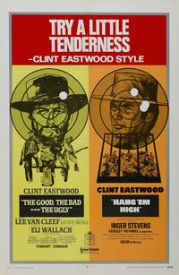 The Good, the Bad and the Ugly - 27 x 40 Movie Poster - Style H