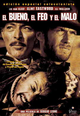 The Good, the Bad and the Ugly - 27 x 40 Movie Poster - Spanish Style A