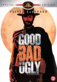 The Good, the Bad and the Ugly - 11 x 17 Movie Poster - Danish Style A