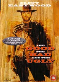 The Good, the Bad and the Ugly - 30 x 40 Movie Poster UK - Style A