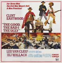 The Good, the Bad and the Ugly - 40 x 40 - Movie Poster - Style A