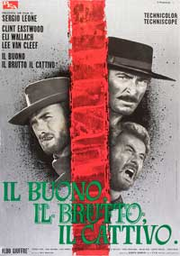 The Good, the Bad and the Ugly - 11 x 17 Movie Poster - Italian Style E