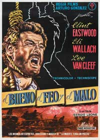 The Good, the Bad and the Ugly - 11 x 17 Movie Poster - Spanish Style C