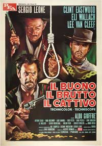 The Good, the Bad and the Ugly - 11 x 17 Movie Poster - Italian Style F
