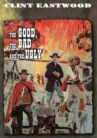 The Good, the Bad and the Ugly - 11 x 17 Movie Poster - Style K