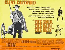 The Good, the Bad and the Ugly - 27 x 40 Movie Poster - UK Style A