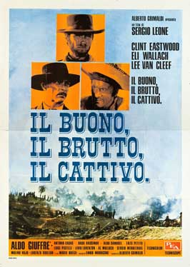 The Good, the Bad and the Ugly - 27 x 40 Movie Poster - Italian Style C