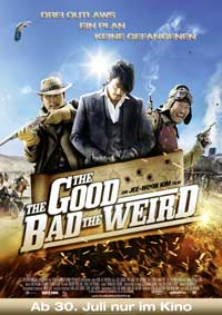 The Good, the Bad, the Weird - 11 x 17 Movie Poster - German Style A